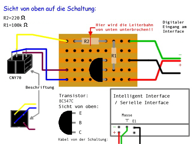 Jojos Homepage - fischertechnik - CNY70